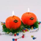 Новогодние свечи и символ года