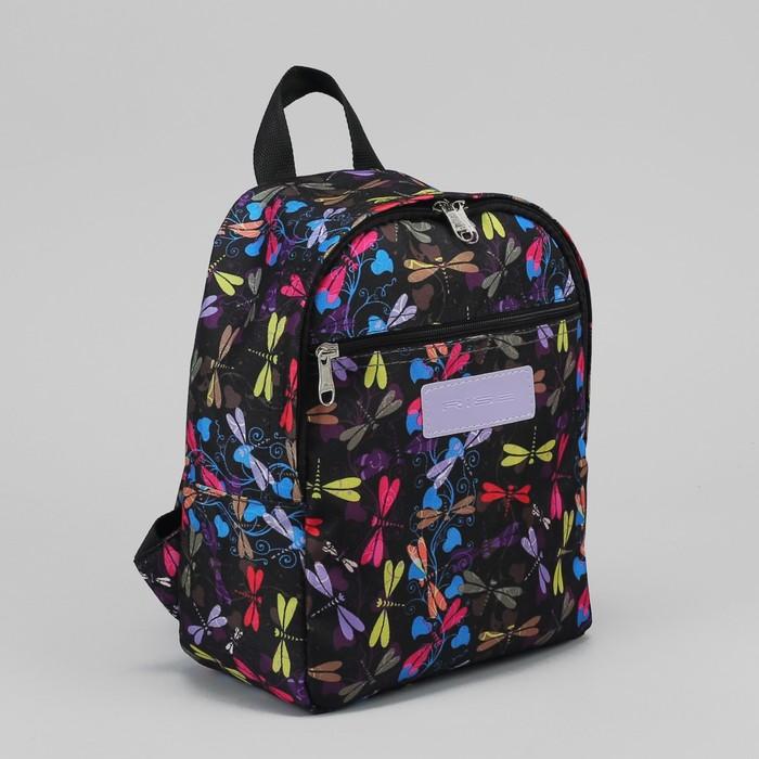 f7e49ebe180e Рюкзак молодёжный, отдел на молнии, наружный карман, цвет чёрный
