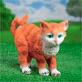 садовые фигурки кошки