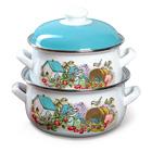эмалированные наборы посуды