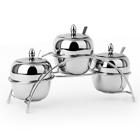 металлическая посуда для сервировки стола