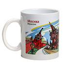 посуда с символикой Москвы
