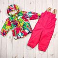 утепленные комплекты верхней одежды для малышей