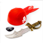 игровые наборы оружия пиратские для мальчиков