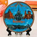 посуда с символикой Барнаула