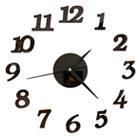 настенные часы-наклейки