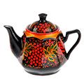 сувенирные чайники с хохломой российских поставщиков