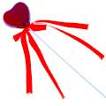 декоративные сердечки для цветов