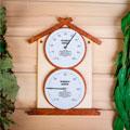 термометры и гигрометры для бани