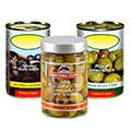 Оливки, маслины консервированные