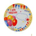 Тарелки декоративные к Дню Рождения