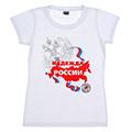 женские футболки с российской символикой