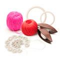Принадлежности для макраме и плетения