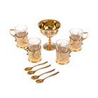 сувенирные чайные наборы от мастеров Златоуста