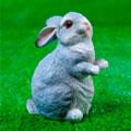 садовые фигуры зайцы