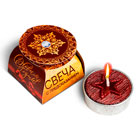 новогодние чайные свечи