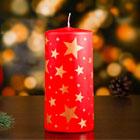 новогодние свечи-пеньки