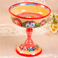 сувенирные тарелки городецкой росписи