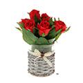 композиции из искусственных роз