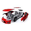 внешние элементы кузова машины