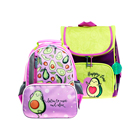 School bags and backpacks with ergonomic back