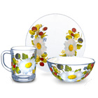 стеклянные наборы посуды