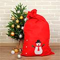 новогодние мешки Деда Мороза
