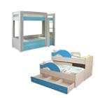 детские двухместные кровати