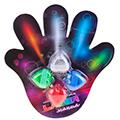 сувенирные световые насадки для пальцев с приколами