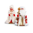 Деды Морозы и Снегурочки в Донецке