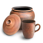 The ware from clay