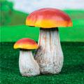 садовые фигуры грибы