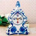 сувенирные часы с гжелью российских поставщиков