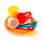 летняя туристическая одноразовая посуда