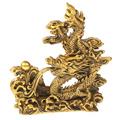нэцкэ и статуэтки драконов, собачек, Пи ЯО, Кирины из бронзы