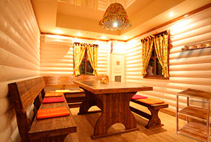 Furniture & Accessories for Russian Sauna Banya