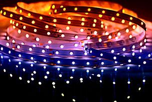 Светодиодные ленты, модули и комплектующие