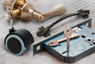 Ironmongery and fittings
