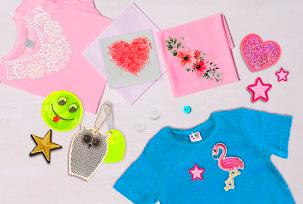 Decorative elements for clothes