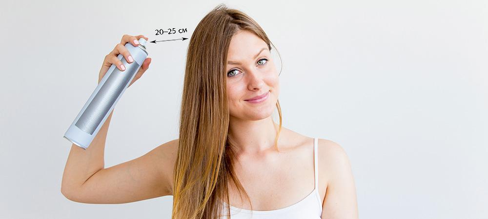Как пользоваться спреем для волос