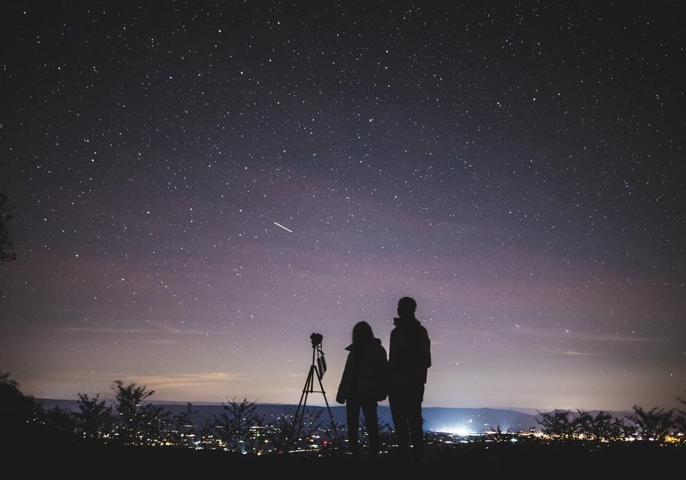 Использование телескопа на природе
