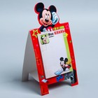 """Блок с отрывными листами на подставке """"Мои планы"""", Микки Маус и друзья, 30 листов"""
