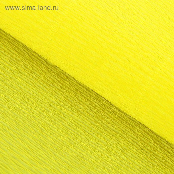 """Бумага гофрированная, 975 """"Лимонад"""", 0,5 х 2,5 м"""