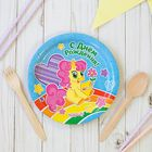 "Plate paper ""happy Birthday! Pony"", 18 cm"
