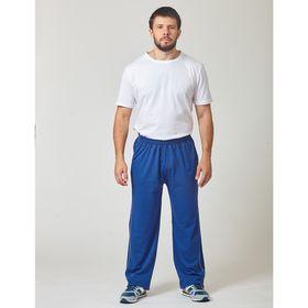 Брюки мужские 20493, цвет синий, р-р 50