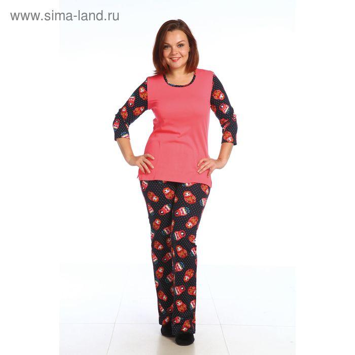 Пижама женская 221И1651, р-р 50 (100)  МИКС
