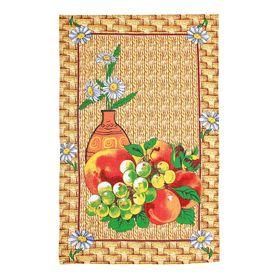 Полотенце кухонное Collorista 'Фрукты', размер 48х72±2, 100% хлопок, вафельное полотно 162 г/м2 Ош