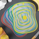 Набор досок разделочных гибких «Ассорти», 30×23 см, 4 шт, цвет МИКС