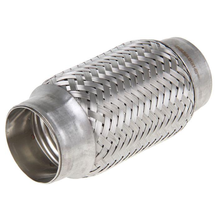 Гофра глушителя Masuma EP-016 51x145 мм, алюминизированная сталь