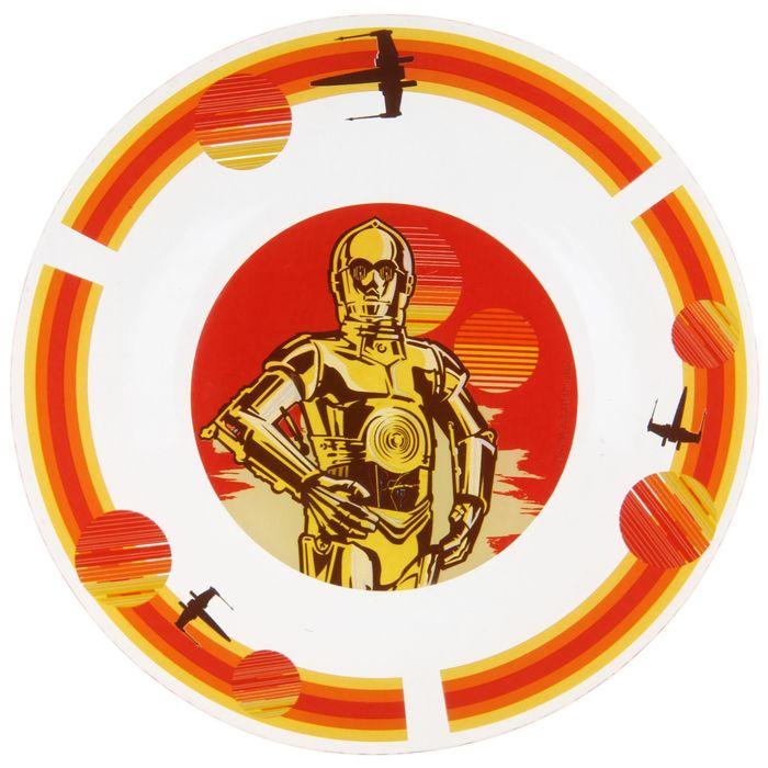 """Тарелка 19,5 см """"Звёздные Войны. Роботы"""""""